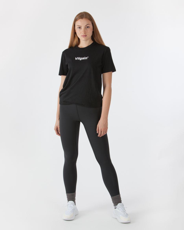 Logotype T-Shirt Schwarz
